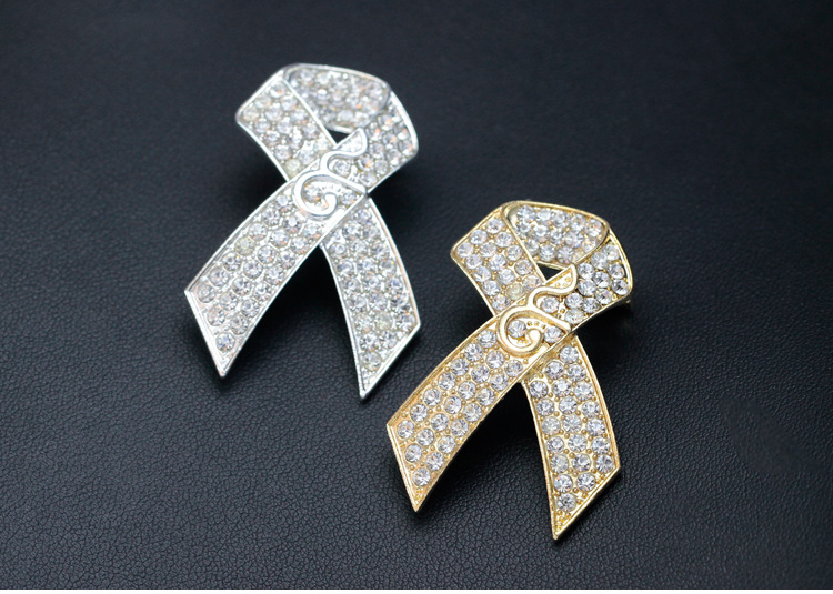 Thailand alloy plating brooch (Gold)NHDR1912-Gold