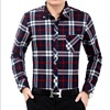 Fashion men's winter, cashmere and thickening shirts, young men's business, leisure cotton and cotton warm shirts wholes