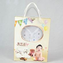嬰兒禮盒新生兒衣服套裝純棉5件套春秋季寶寶衣服長袖長褲多件套
