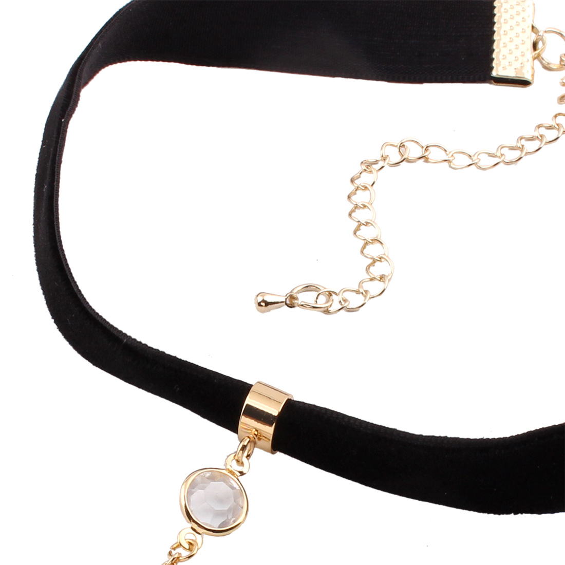 Occident and the United States alloy  necklace (Black Moon) NHNMD3112