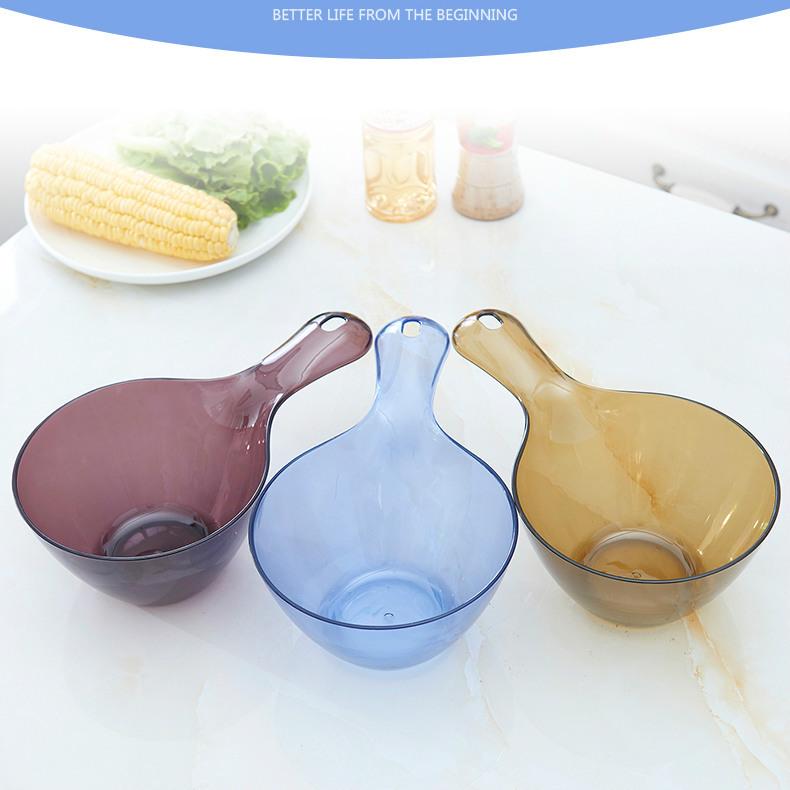 塑料水瓢家用长柄厨房水勺可挂塑料水瓢婴儿宝宝洗澡沐浴瓢批发