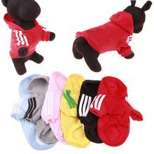 阿迪衣服 宠物服装工厂直销 宠物狗衣服 印刷logo抓绒卫衣服