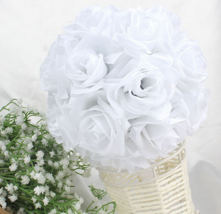 Rose Balls For Wedding Decorations Aliexpress Buy More Thickness ...
