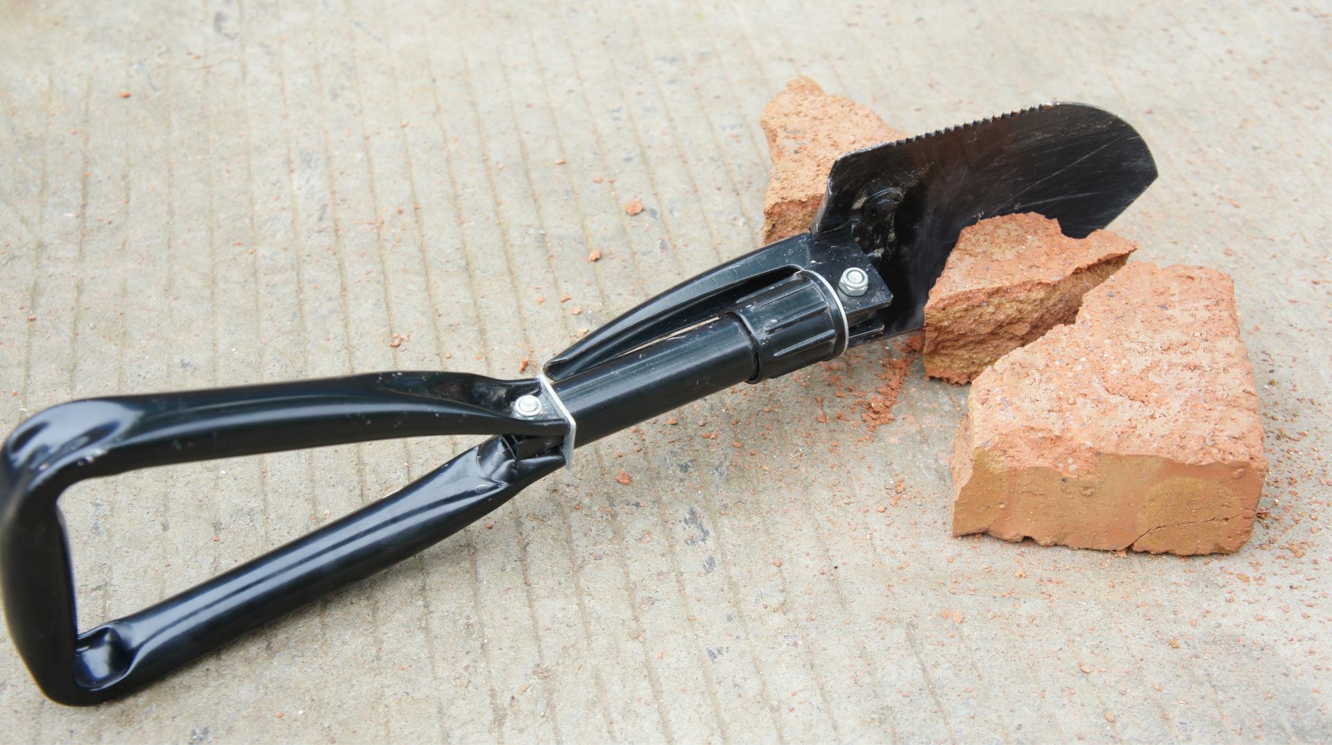 4в1 Складная лопата + топор пила мотыга. Многоцелевой Кемпинг Военная лопатка DSC01817