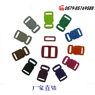 Small buckle bracelet, traction rope color plastic buckle, cat face cat buckle, pet rope small color buckle