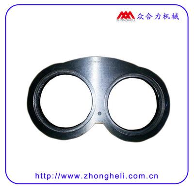 【批发】混混凝土泵合金眼镜板切割环