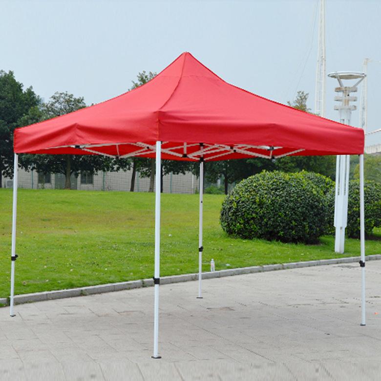 加固自动帐篷户外广告促销摆摊折叠帐篷定做外展销帐篷遮阳四脚伞