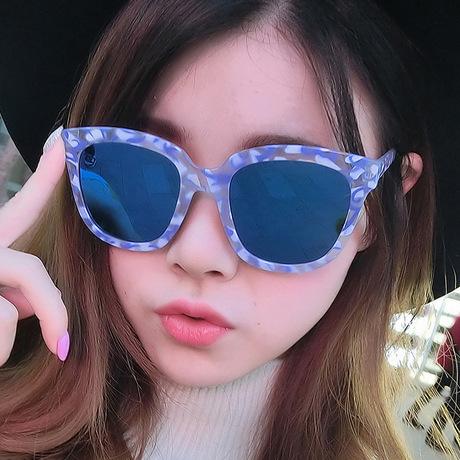 Kính râm Oleon 99015 thương hiệu kính râm bán buôn kính râm nam và nữ mới retro sunglasses kính râm hộp lớn