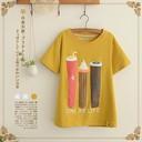 Áo thun nữ thời trang, thiết kế mới thoải mái, phong cách Hàn