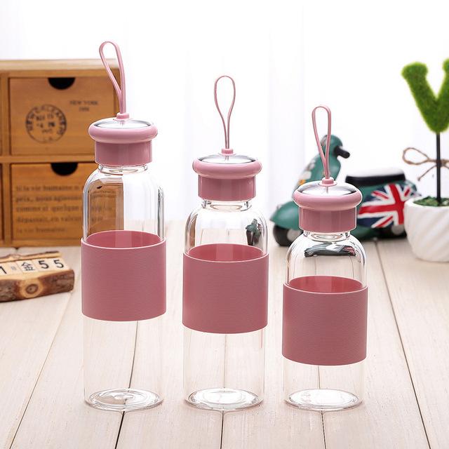 420ml大号玻璃杯 酷帅杯创意夏季水杯 广告促销礼品杯定制logo