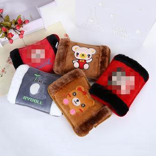 冬季热卖韩版卡通暖手宝可爱加绒电热水袋充电防爆电暖宝厂家直销