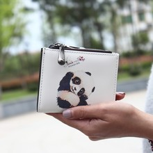 New Coin Purse Cute Fashion Coin Bag PU Leather Stitching Contrast Wallet NHNI170857