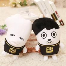 语一辰玩具 韩国BTS防弹少年团丑娃公仔毛绒玩具现货批发可定制