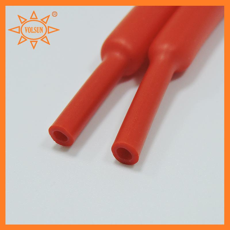 φ4.8mm带胶双壁热缩管 含胶热缩管 双壁热缩套管 pe带胶套管