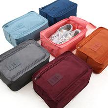 二代韩式运动鞋子袋 防水可折叠鞋盒批发 旅行手提收纳鞋包