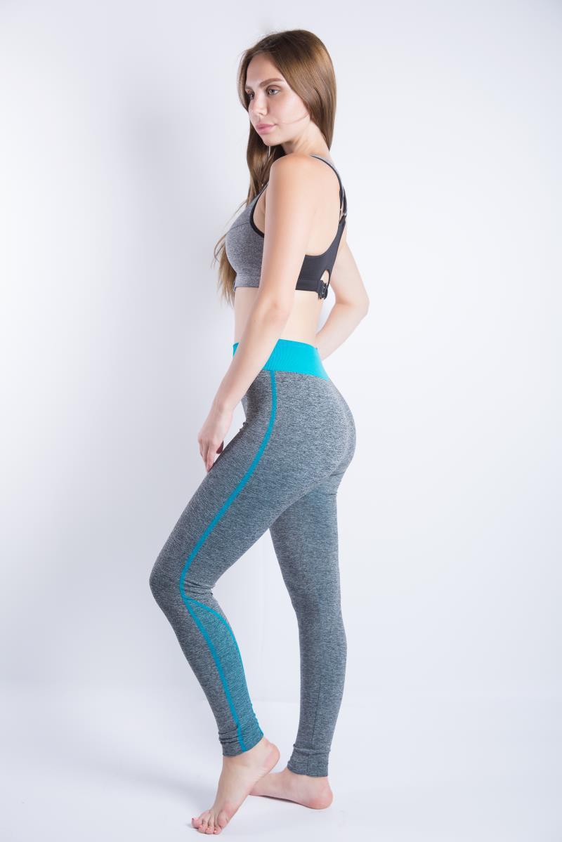 Sports yoga nine pants sweat-absorbent tight running leggings NHMA153297