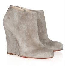 秋冬保暖短靴女鞋百搭顯高時尚坡跟踝靴反絨皮廠家直銷外貿原單