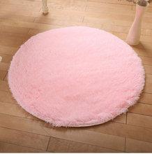 厂家直销丝毛地毯圆形 吊篮椅 帐篷垫客厅地垫可定制