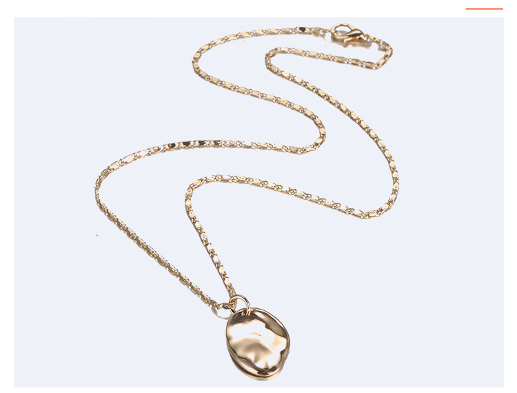 Alloy Fashion Geometric necklace  (Alloy) NHTF0124-Alloy