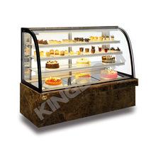 金城冷柜 四层圆弧蛋糕柜 蛋糕西点冷藏展示柜 玻璃展示世保鲜柜