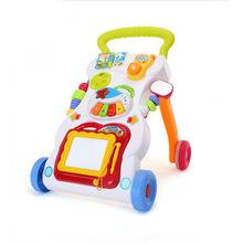 新款嬰兒學步車手推車兒童早教益智玩具寶寶多功能帶音樂廠家批發