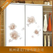 精品推薦 硬包玻璃衣柜移門 百葉玻璃衣柜移門 定制加工