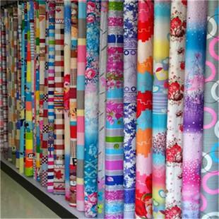 厂家直销 家纺面料批发钻石绒面料磨毛印花芦荟棉床上用品布料