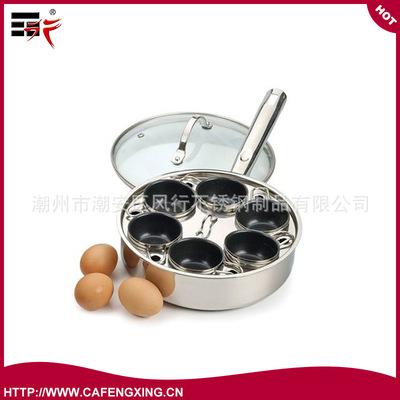 供应不锈钢煮蛋锅(图) 玻璃透视盖 规格可选