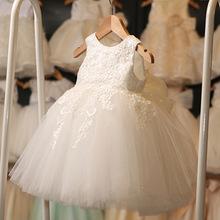 童裙一件代发速卖通爆款儿童婚纱礼服公主裙女童绣花连衣裙演出服