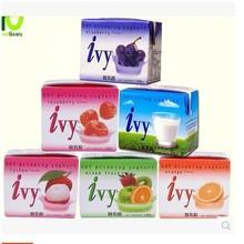 批发泰国进口 IVY爱谊 综合水果酸乳饮料 果汁酸奶180ml*48瓶/箱
