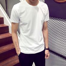 一件代发短袖t恤 男装圆领夏季上衣?#21487;?#30007;士打?#21672;?#21322;袖潮地摊货源