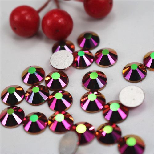 Rhinestones silver rainbow rose gold DIY accessories mobile phone nail accessories