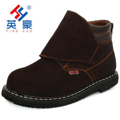 厂家批发轮胎底电焊鞋 加厚耐高温电焊工鞋 加盖高帮防砸劳保鞋