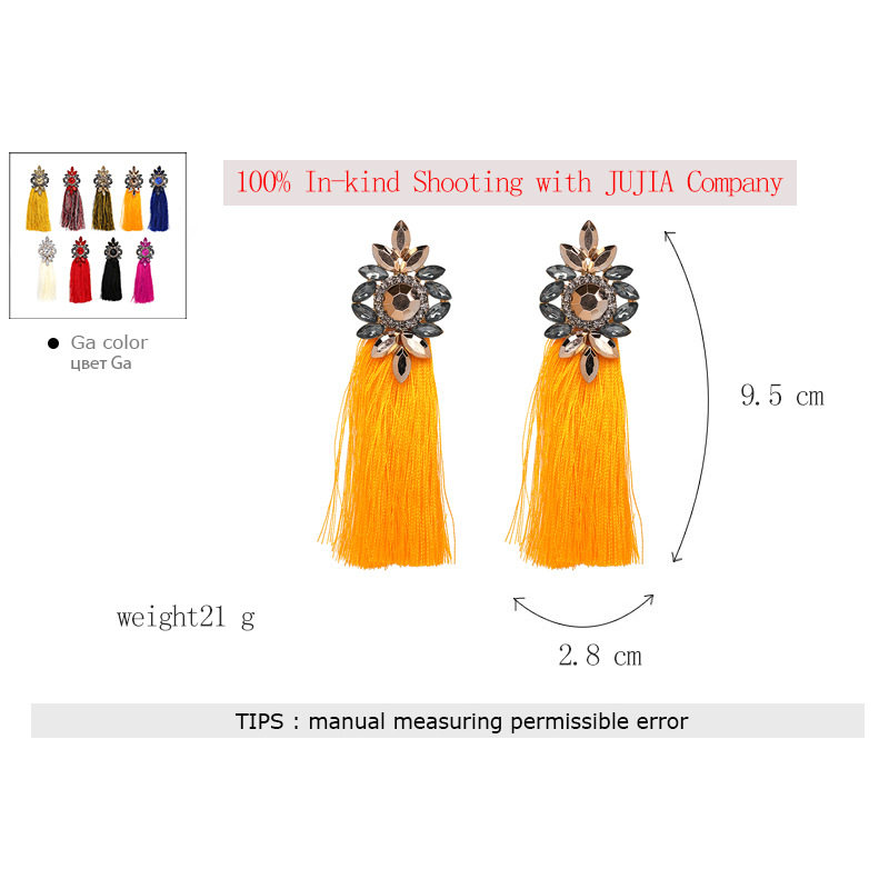 Other Plastic  earring Flowers (red)  NHJJ3854-red