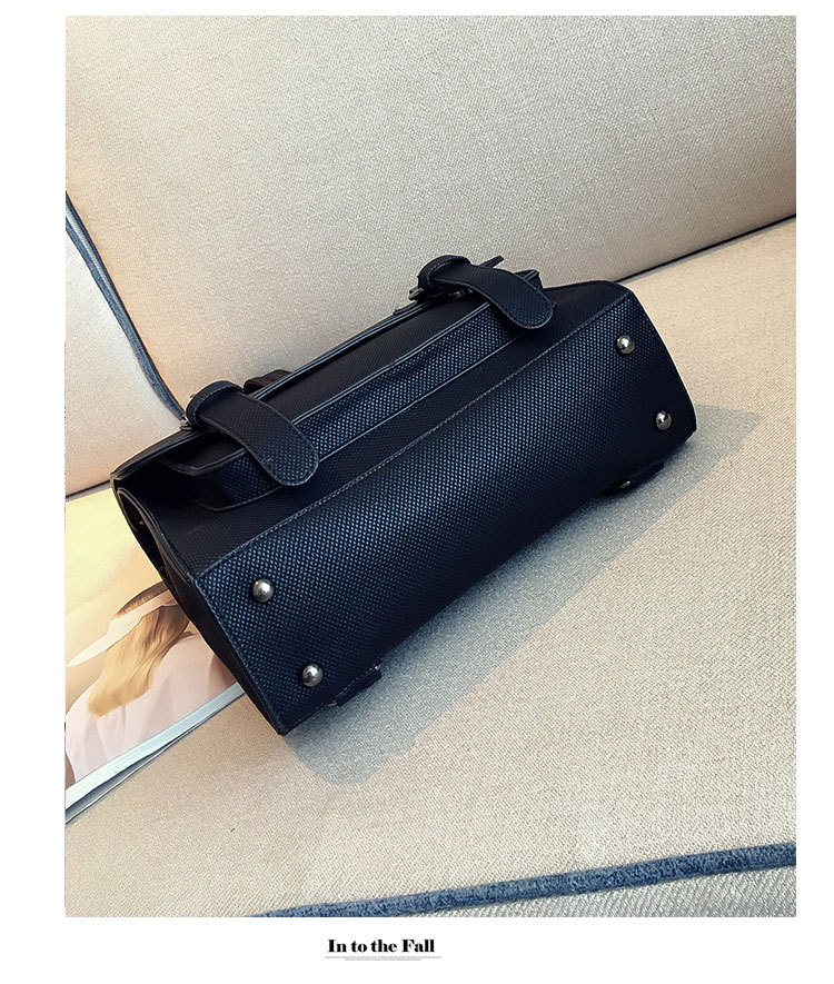 Korean version PUfashion bag (gray)NHPB0233-gray