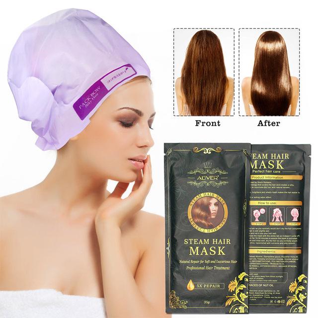 外贸爆款ALIVER发膜免蒸倒膜头发护理护色保湿营养修复发质柔顺