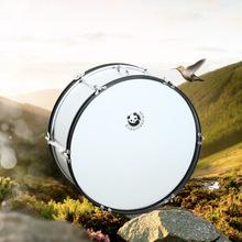银色大军鼓16寸到26寸可定制 少先队鼓号队手鼓乐器 军鼓音乐器材