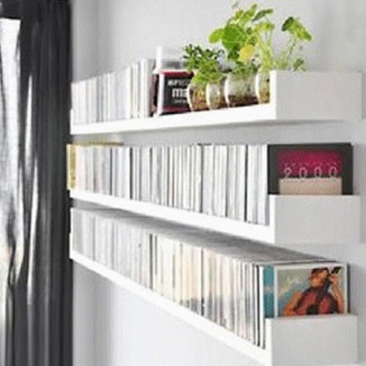 创意壁挂置物架 山字型U型墙壁架隔板 加厚简易书架厂家批发可定