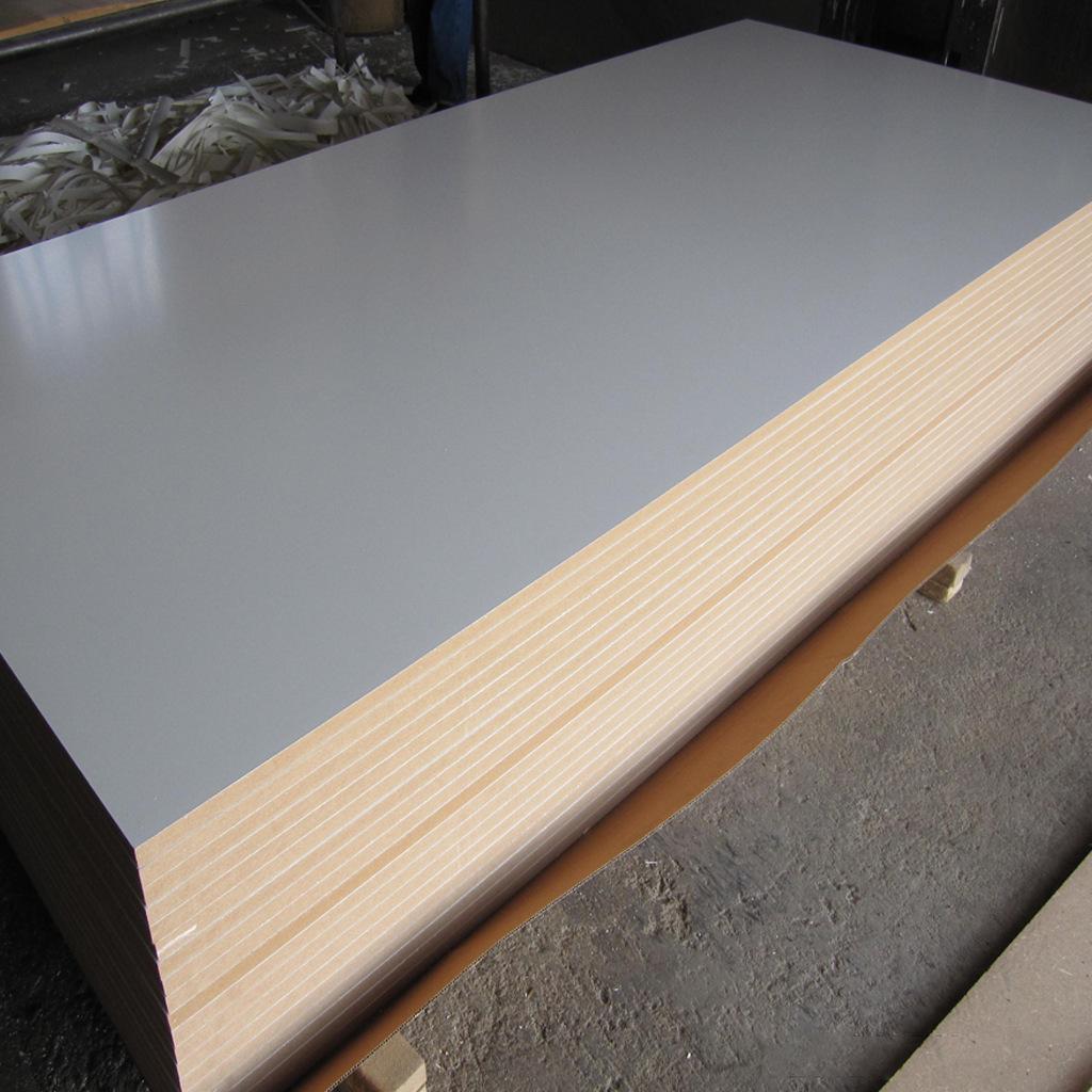 15mm高密度板批发三聚氰胺贴面板免漆板中纤板密度板加工厂家直销