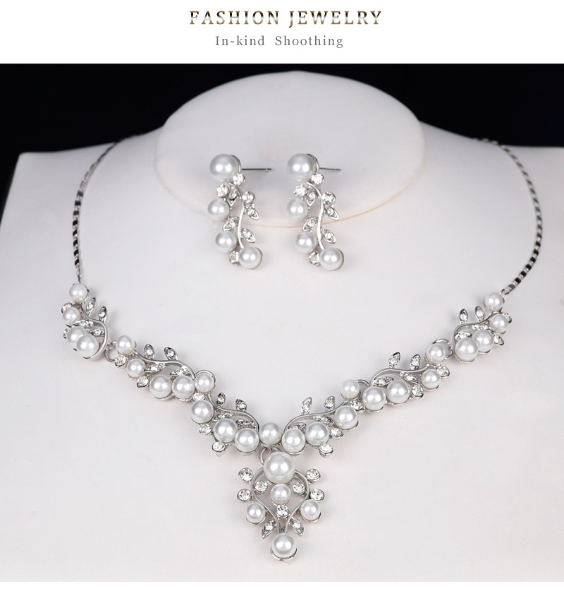 Fashion Alloy plating Jewelry Set  (Alloy)  NHDR2365-Alloy