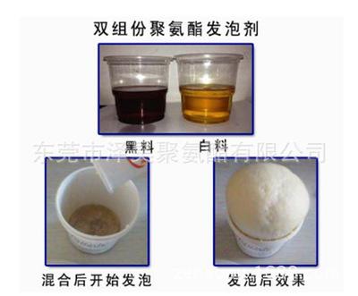 泽昊PU组合聚醚发泡料 MDI 浇筑胶 填充保温聚氨酯喷涂料 黑白料