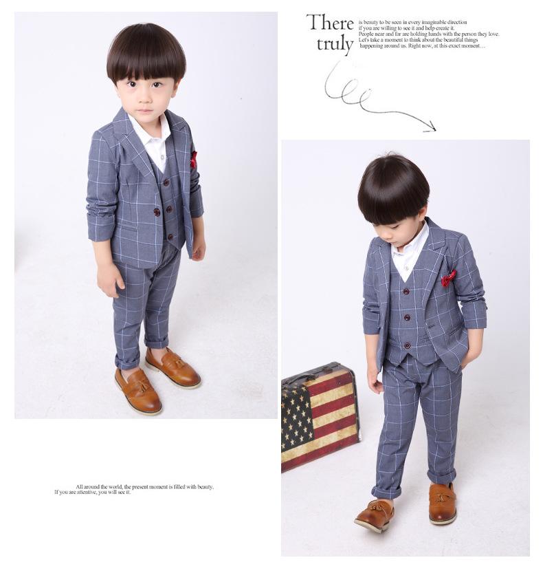 Toddler Boy Teen Suit Vest Shirt Pants Bow tie Wedding Formal Perform Tuxedo Set