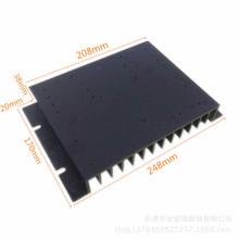 廠家直銷控制器散熱器鋁合金散熱片鋁合金散熱器大功率散熱器