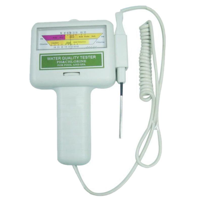 PC101游池水质检测仪器泳池余氯检测仪PH检测仪水质仪泳池检测仪