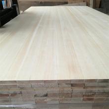 厂家直销樟子松直拼板实木板直纹床板UV板桌面板定做大板材