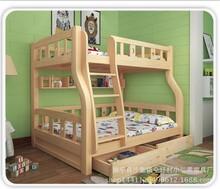 实木上下床子母床成人上下铺儿童床男孩1.5米母子床双层床高低床