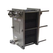 吉?#36136;?#30333;城市 可拆式不锈钢板式换热器整机 蒸汽热交换器