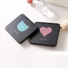 包包宝方形双面折叠小镜子 韩版创意学生礼品化妆镜 定制LOGO赠品