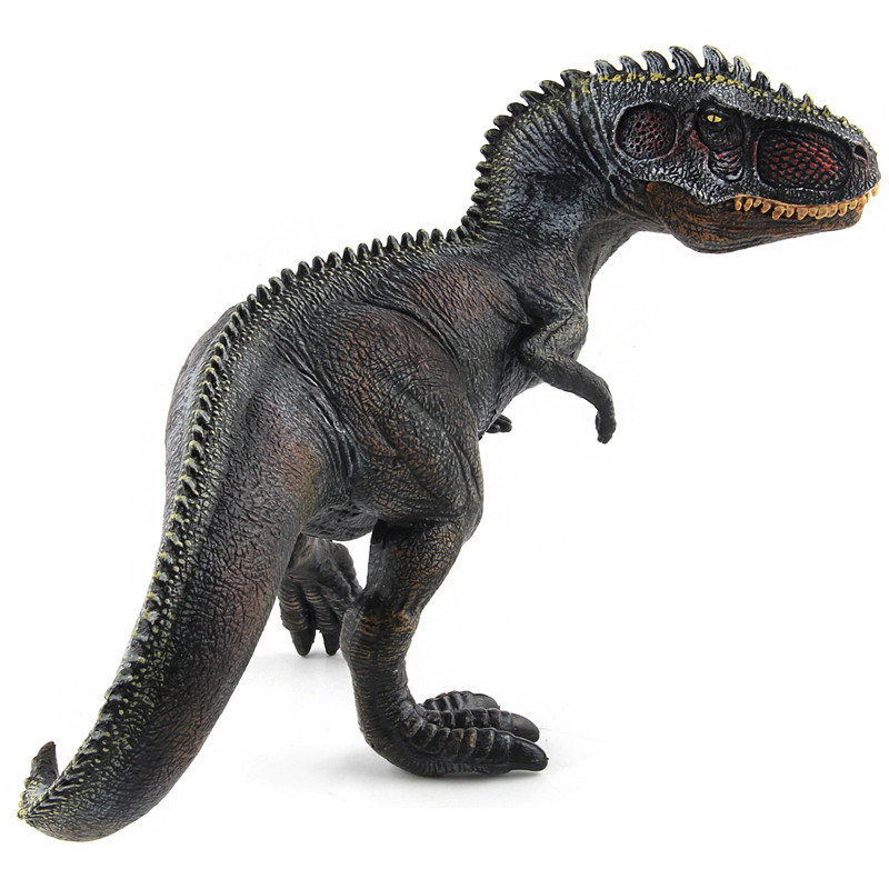 Giganotosaurus Tyrannosaurus Dinosaur Action Figure Model Toy Black//Brown