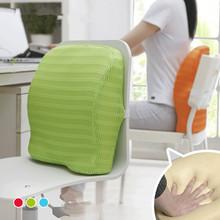 多色款夏涼記憶棉腰墊 汽車腰靠靠墊 辦公室腰枕靠背批發